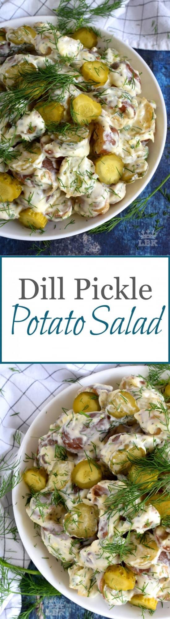 Dill Pickle Potato Salad