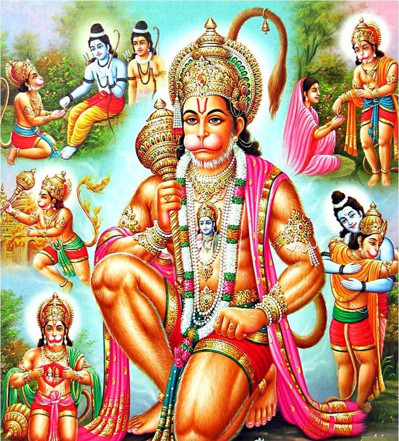 Lord Hanuman The Incarnation Of Lord Shiva Lord Hanuman
