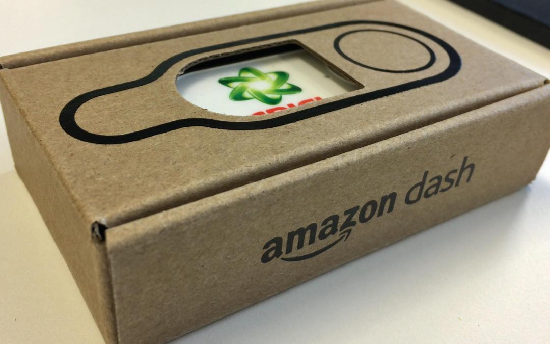 Le Dash Button : la petite révolution que vient de lancer Amazon, le géant de l'e-commerce