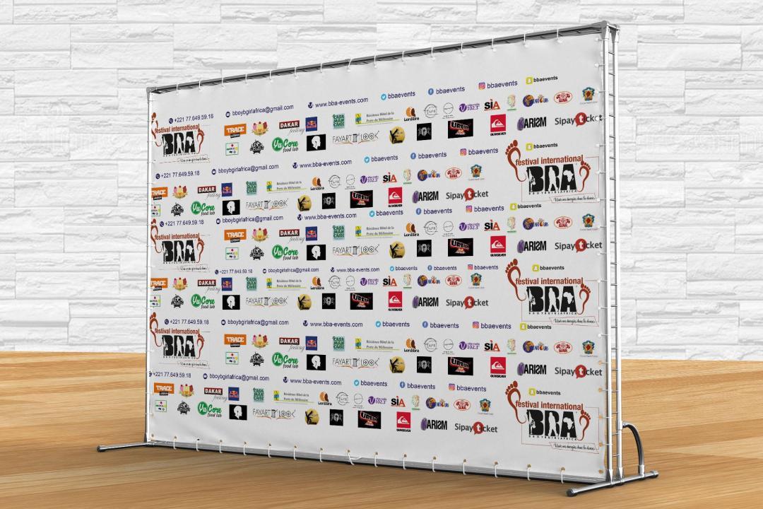 Backdrop / Media Wall - FIBBA