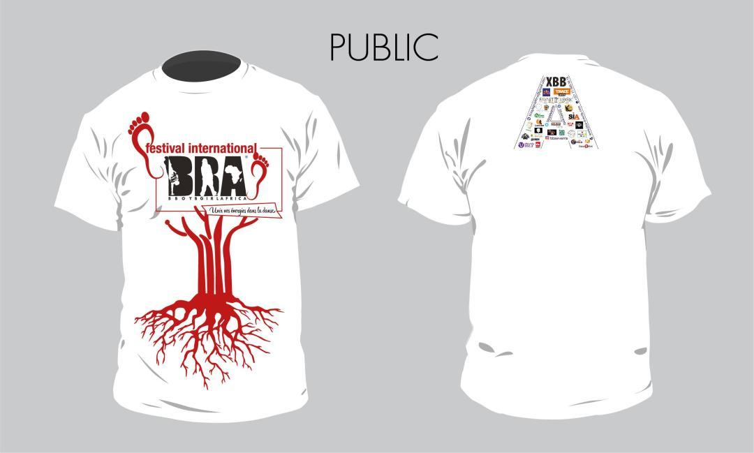 1-Tshirt Public - FIBBA