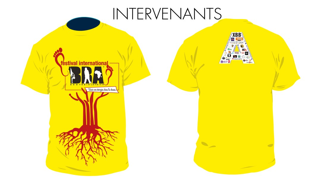 3-Tshirt jaune - Intervenants FIBBA