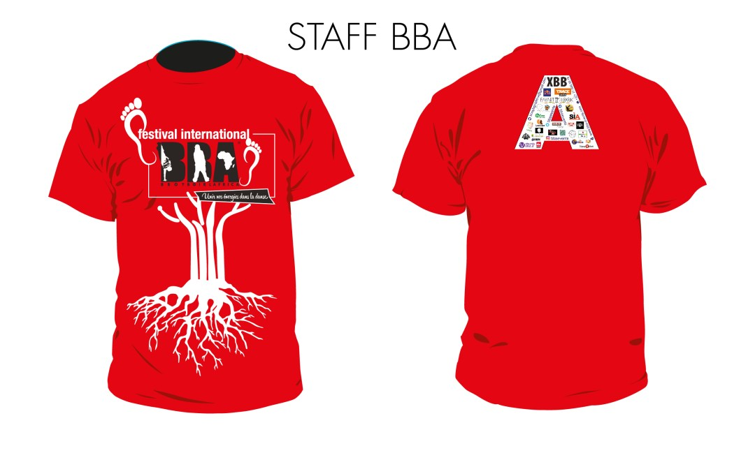 4-Tshirt Rouge - Staff FIBBA