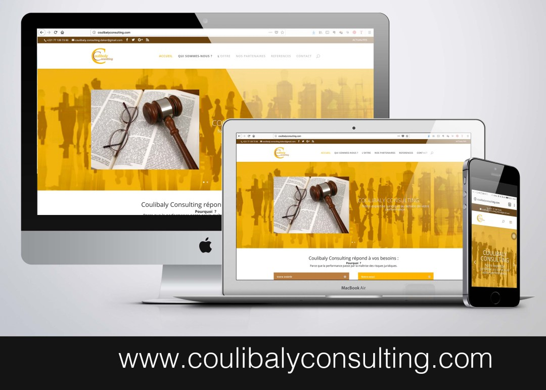 SITE WEB - www.coulibalyconsulting.com