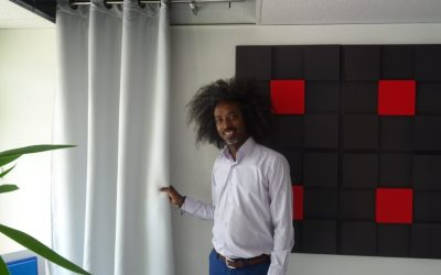 Mohamed SYLLA, l'inventeur du RIDPHONIC « rideau antibruit »