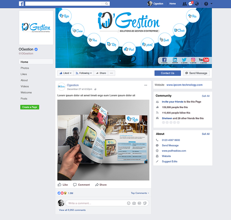 Branding Page Facebook-OGestion