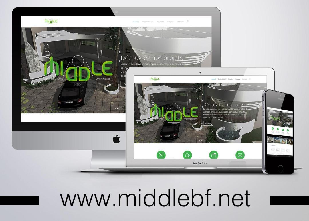 Site web -  MIDDLE