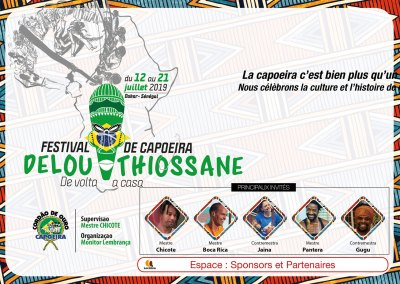 DELOU THIOSSANE – Festival international de Capoeira