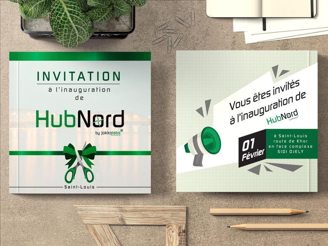 Carte d'invitation  Design by Lordibra