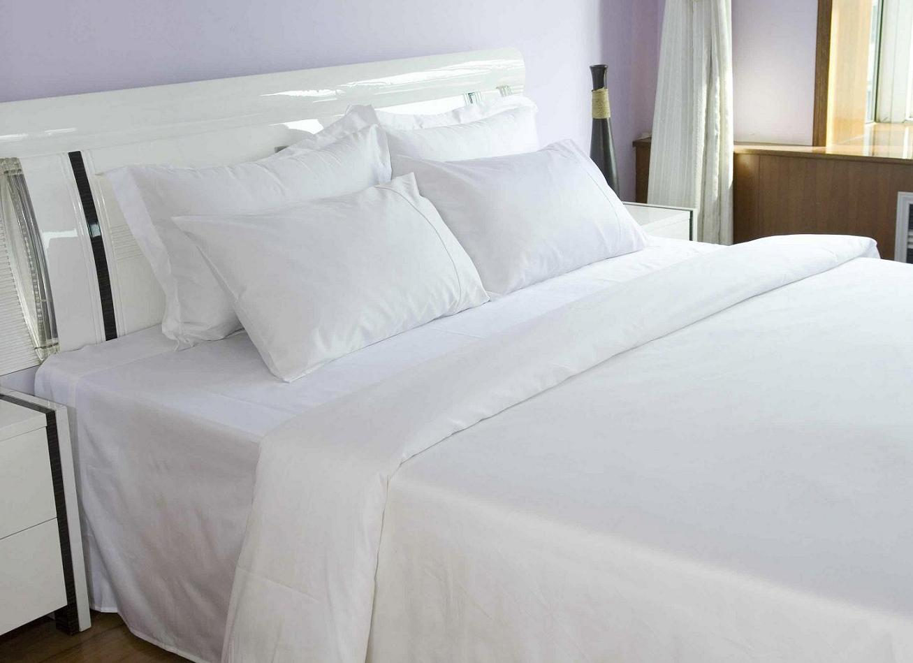 Bed Sheet King Size 100 X 112 Cotton 20 S Count