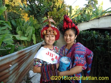 Indigenous Queens of Santiago Atitlán and Palin Escuintla in Pueblo Nuevo Suchitepéquez