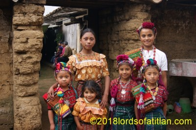 These girls are from different parts of Cantel, Quetzaltenango and therefore speak k´iche´.