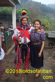 She is Clara Fernanda Gomez from Todos los Santos Cuchumatán, Huehuetenango, and is therefore a mam speaker.