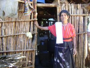 Woman, Barrio 1, San Marcos la Laguna