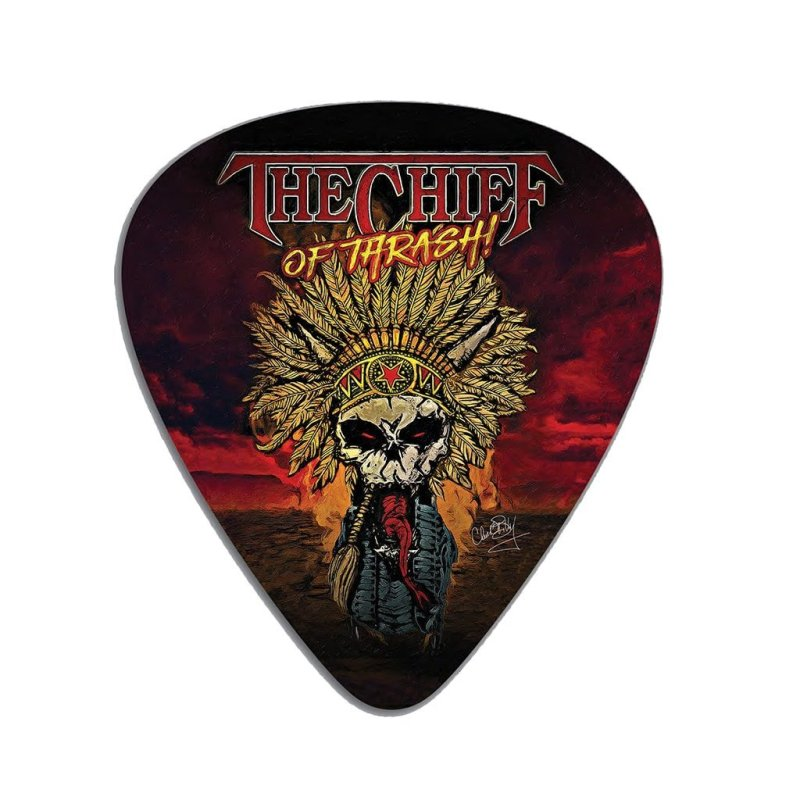 Chuck Billy The Chief Of Thrash Mousepad Merchandise Collection for him her metal head computer