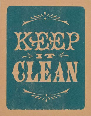 Keep It Clean