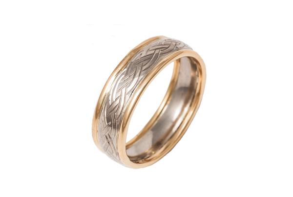 Celtic Style Wedding Ring