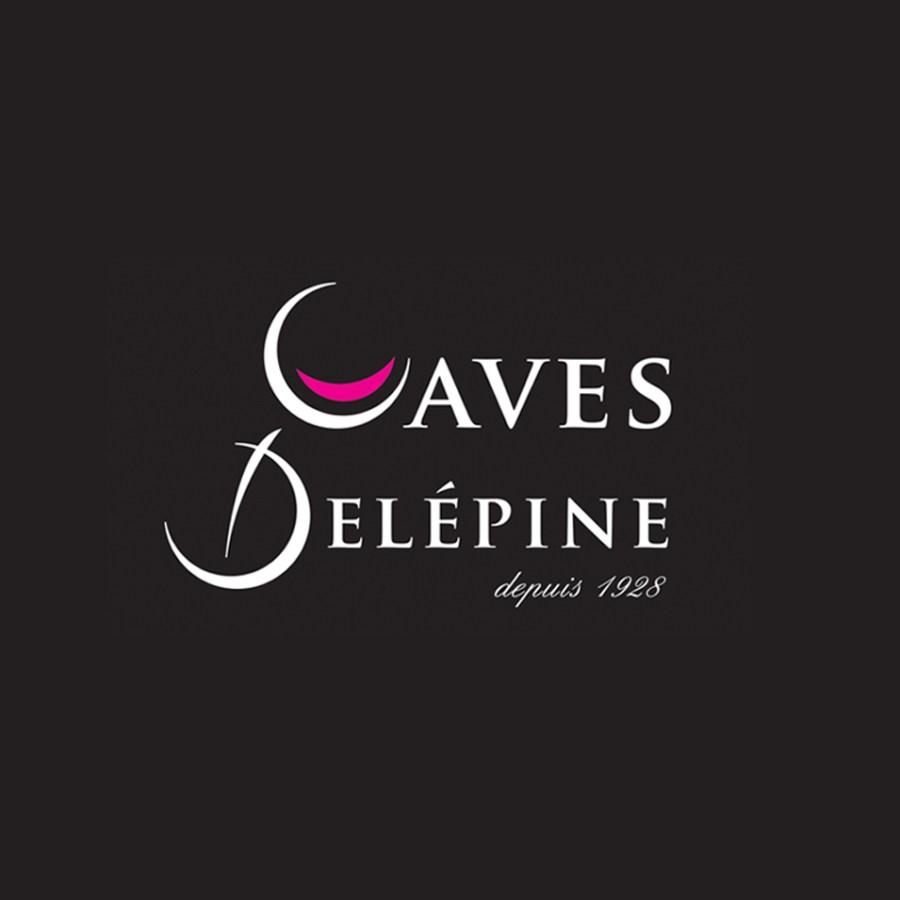refonte logo caves delepine - caviste