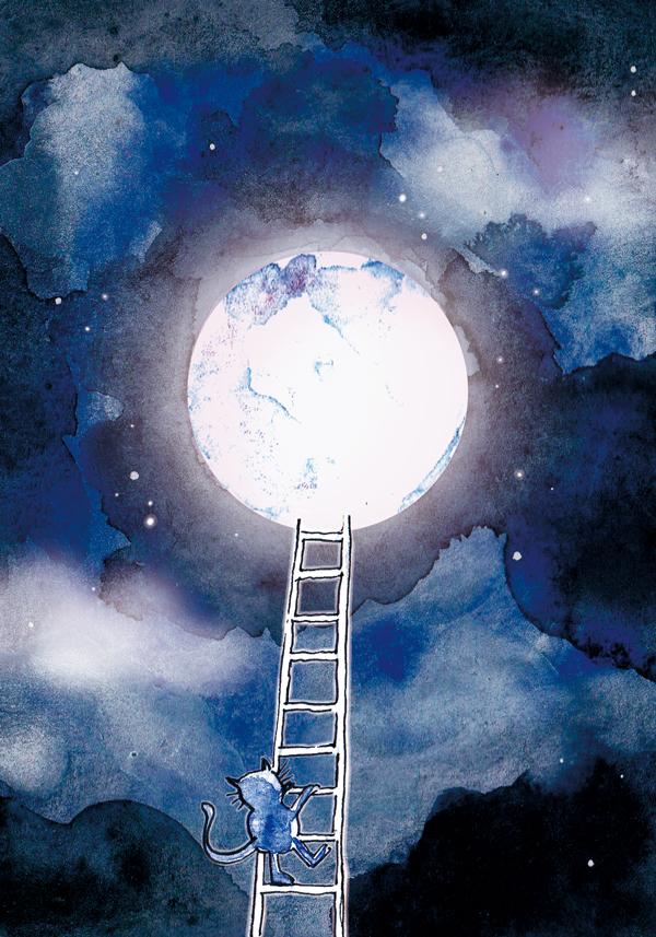 illustration decrocher la lune