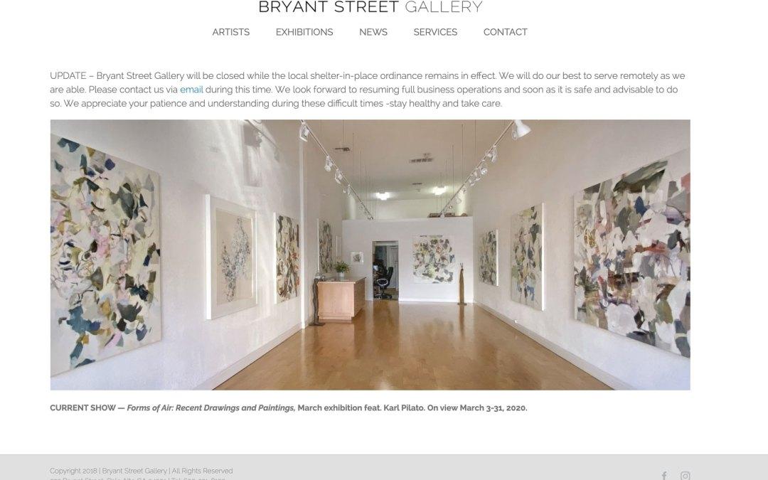 Bryant Street Gallery, Palo Alto