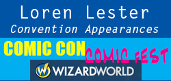 Click for Loren's convention schedule
