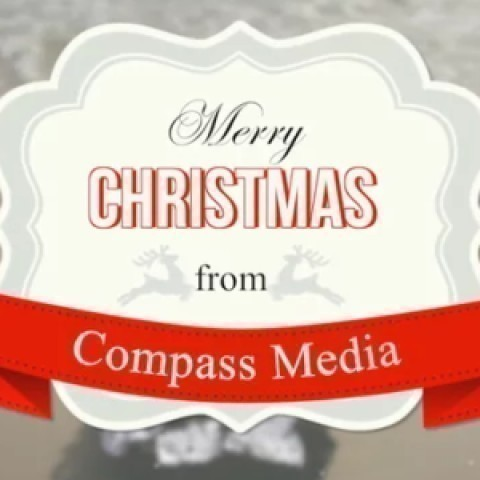 Compass Video Christmas Card