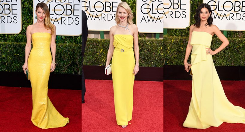 Golden-Globes-2015-Yellow-Gowns