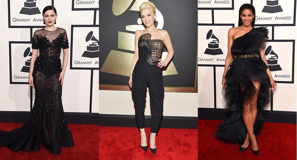 2015-Grammy-Awards-Red-Carpet-Jessie-J-Gwen-Stefani-Ciara