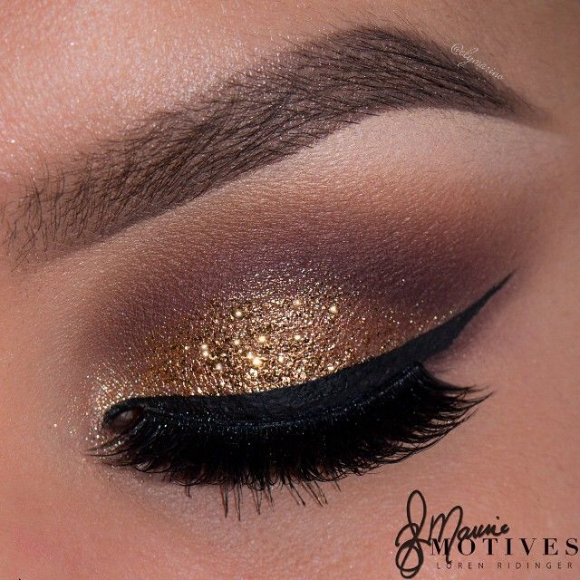 Motives Gold Glitter