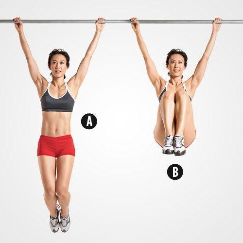 hanging leg raises