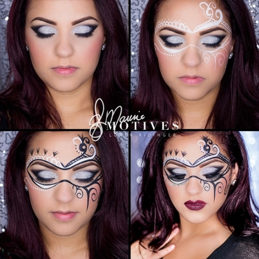 5 Glam Halloween Makeup Ideas With