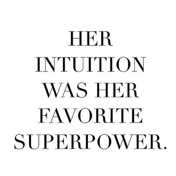 intuition quote