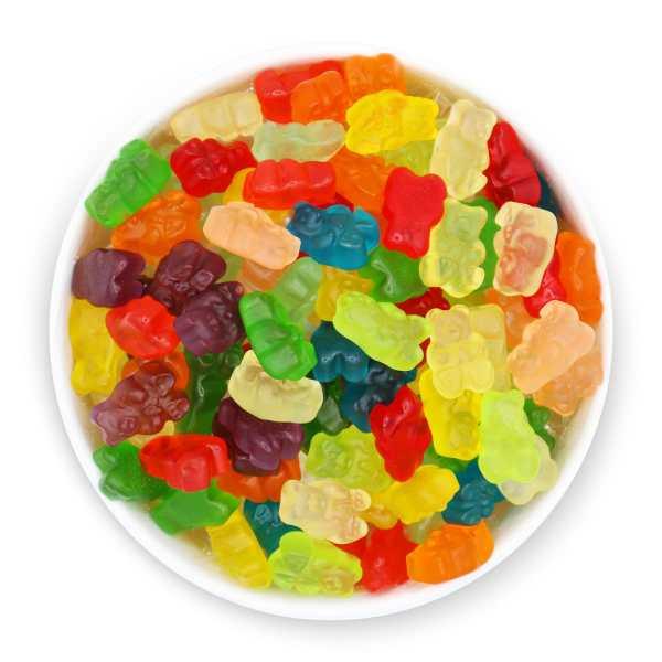 12-flavor-gummy-bears-top-bowl-www Lorentanuts Com Jelly Belly Italian Biscotti