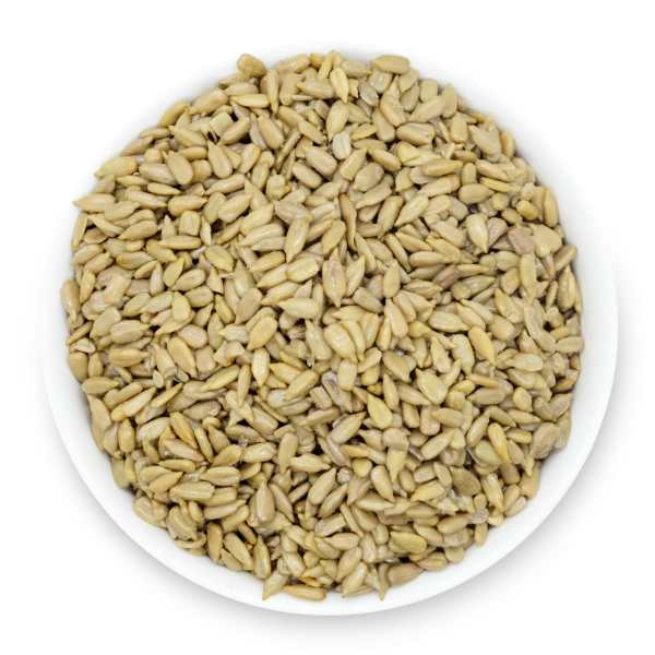 Roasted-and-salted-sunflower-seeds-bowl-top-view-www Lorentanuts Com Protein Punch