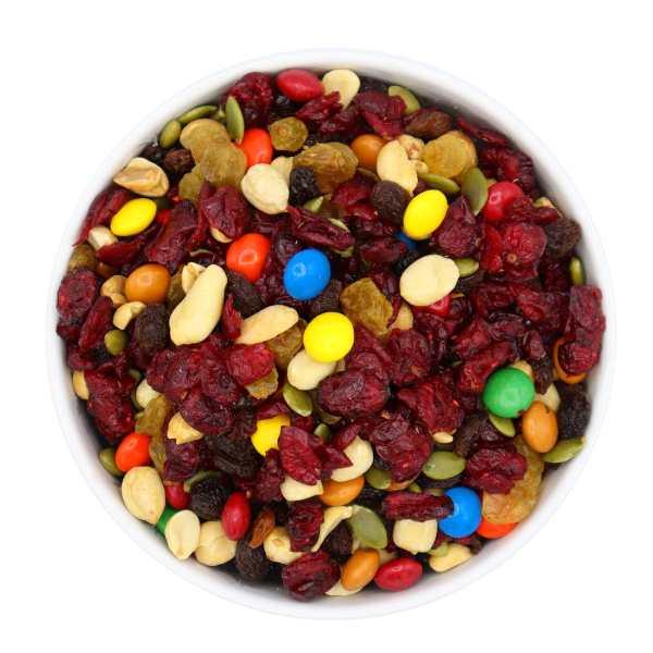 Royal-cranberry-trail-mix-bowl-www Lorentanuts Com Chocolate Trailmix
