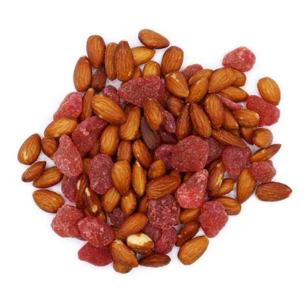 Strawberry-almond-top-www Lorentanuts Com Chocolate Trailmix