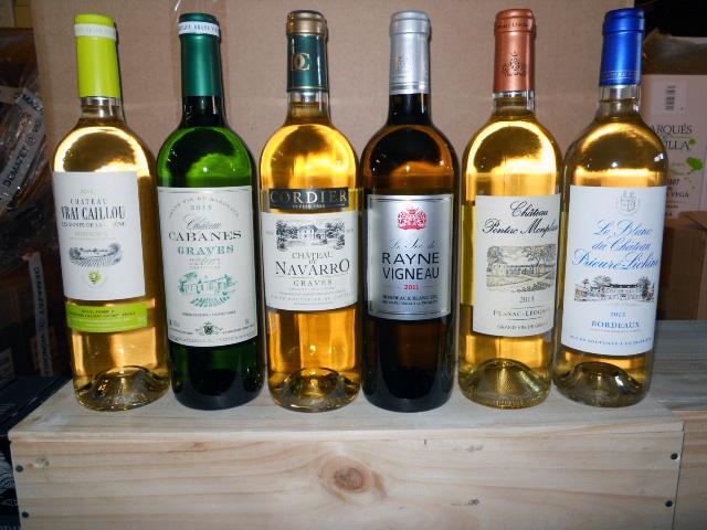 Bordeaux hvidvin - smagekasse
