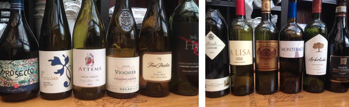 Smageprogrammet til Skanderbord mesterskabet i blindsmagning af vin