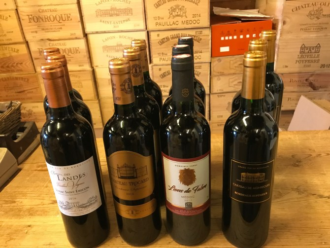 Bordeaux smagekasse