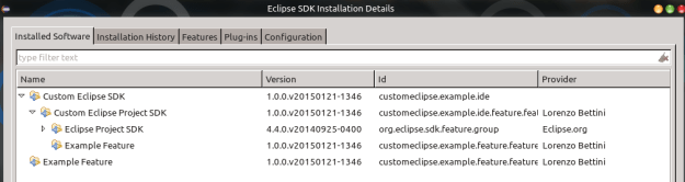 custom eclipse sdk installation details 2