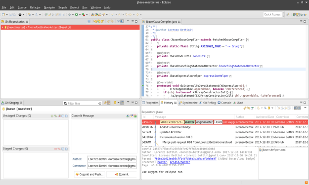 Eclipse tested with a few Gnome themes | Lorenzo Bettini