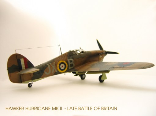 Hurricane MKII - Late Battle of Britain