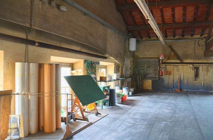 Laboratorio di scenografia teatrale del Maggio Musicale Fiorentino, Tavolo da disegno