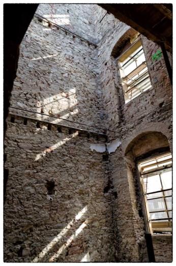 Villa Vittoria, casa di cura in restauro