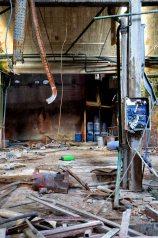 Edificio industriale abbandonato