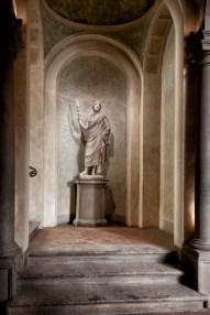 Palazzo Bartolommei a Firenze, Androne di Ingresso