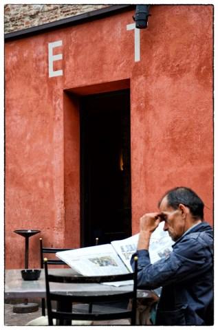lettura del giornale