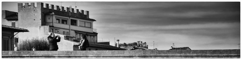 Ponte Santa Trinita, foto ricordo