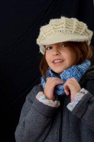 Teresa con cappello di lana