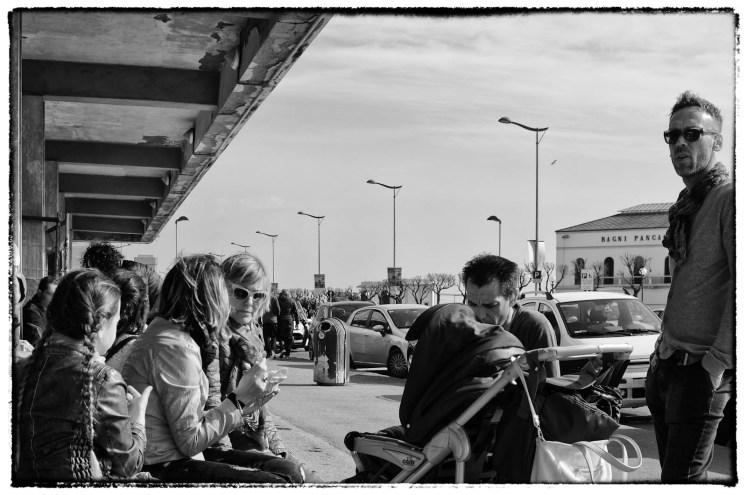Gelateria di fronte ai bagni Pancaldi a Livorno
